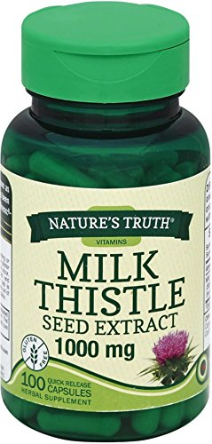 Nature's Truth Milk Thistle Seed Extract 1000 mg, 100 Count