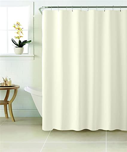 MINEL PEVA Shower Curtain MOLD And Mildew Resistant Environmentally Friendly Vinyl