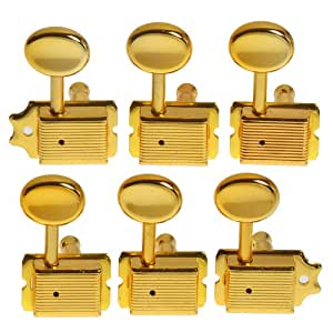 aklot string tuning pegs keys tuners machine heads for fender tele strat electric. Black Bedroom Furniture Sets. Home Design Ideas
