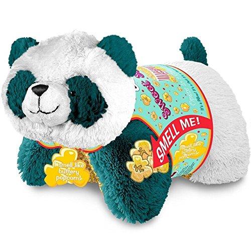 Pillow Pets Sweet Scented Pets - Popcorn Panda Stuffed Animal Plush Toy