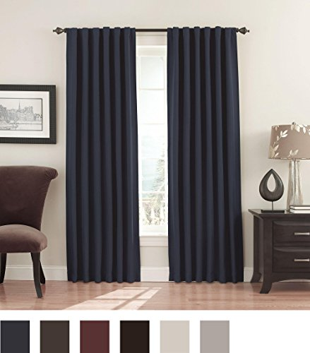 Eclipse Fresno 52 by 84-Inch Blackout Window Curtain -  - living-room-soft-furnishings, living-room, draperies-curtains-shades - 51XbAivQJ L -