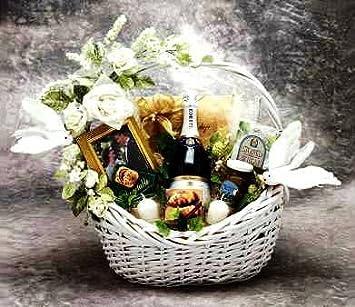 Amazon wedding wishes gift basket large home kitchen wedding wishes gift basket large negle Gallery