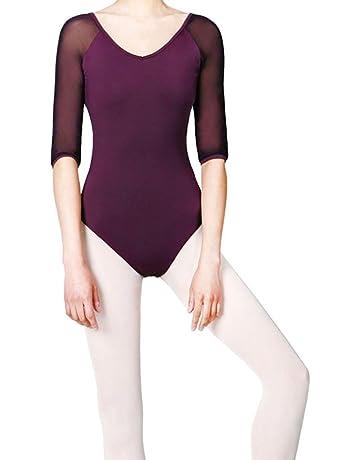 b9dfaee72fdb SHOLIND Women Girls Fashion Elegant Leotard Dance Ballet Backless Gym  Gymnastics Dancewear