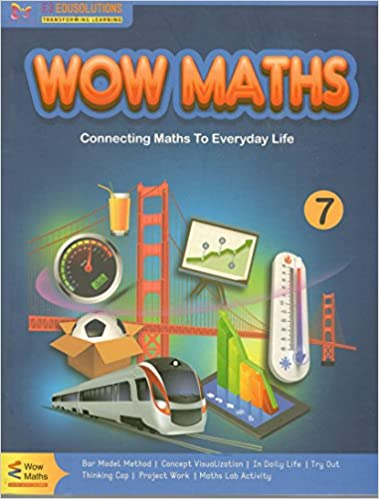 Amazon.in: Buy Wow Maths Textbook for Class 7 Book Online at Low ...