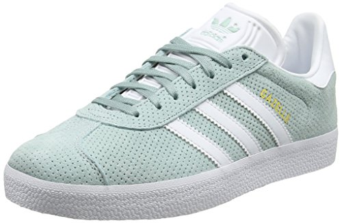 Green Sneakers Grün Damen White Gold Gazelle Footwear adidas Metallic Tactile wnxB46WW