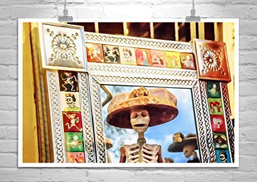Day of the Dead Art, Mexican Folk Art Photo, Dia de los Muertos Dia De Los Muertos Folk Art