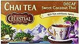 Celestial Seasonings Chai Tea, Decaf Sweet Coconut Thai, 20 Count (Pack of 6)