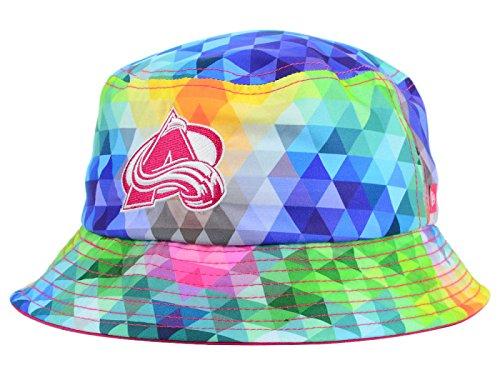 Colorado Avalanche - NHL New Era Youth Gem Multi-Color Bucket Hat ()