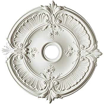 Ekena Millwork 12-3/8 in. Classic Ceiling Medallion-CM12CL ...