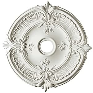 Focal Point Acanthus Medallion In Primed White 31 Inch Decorative Ceiling Medallions