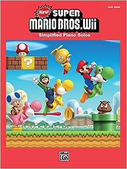 New Super Mario Bros  Wii: Simplified Piano Solos: Koji Kondo, Shiho