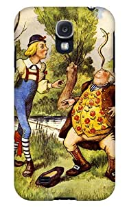Case Fun Samsung Galaxy S4 (I9500) Case - Vogue Version - 3D Full Wrap - Alice in Wonderland Father William