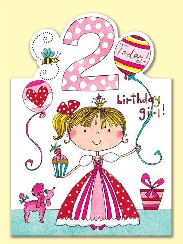 Rachel Ellen Age 2 Princess Birthday Card Amazoncouk Electronics