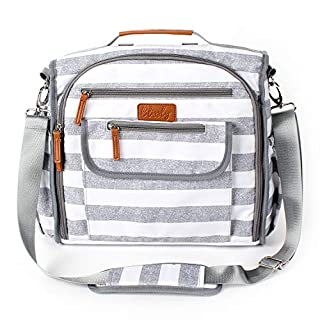Convertible Diaper Bag by Blissly for Girls, Boys, Twins, Moms & Dads