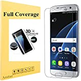 Office Products : Galaxy S7 Edge Screen Protector, Asstar [Full Coverage] Case Friendly Premium HD Invisible Clear Film Anti-Bubble Anti-Scratch Screen Protector for Samsung Galaxy S7 Edge (1 Pack)