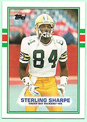 Sterling Sharpe 1989 Topps Rookie #379 - Green Bay Packers