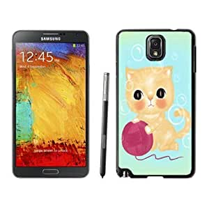 Samsung Galaxy Note 3 TPU Case in Black Cute Cat Soft Silicone Note III Covers for Girls