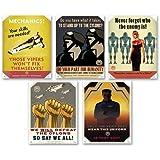 Lot of 5 Battlestar Galactica Propaganda TV Posters Prints