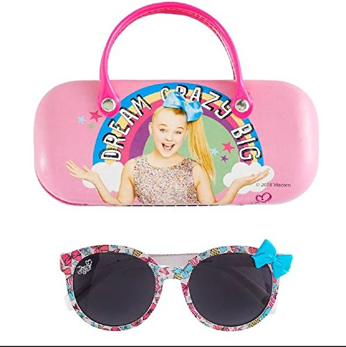 JoJo Siwa Bow Sunglasses & Carrying Case Set - Girls - Bow Glasses