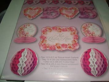 Mis Quince Anos Decorating Kit - Birthday Party Banner Spanish Pk Of 10