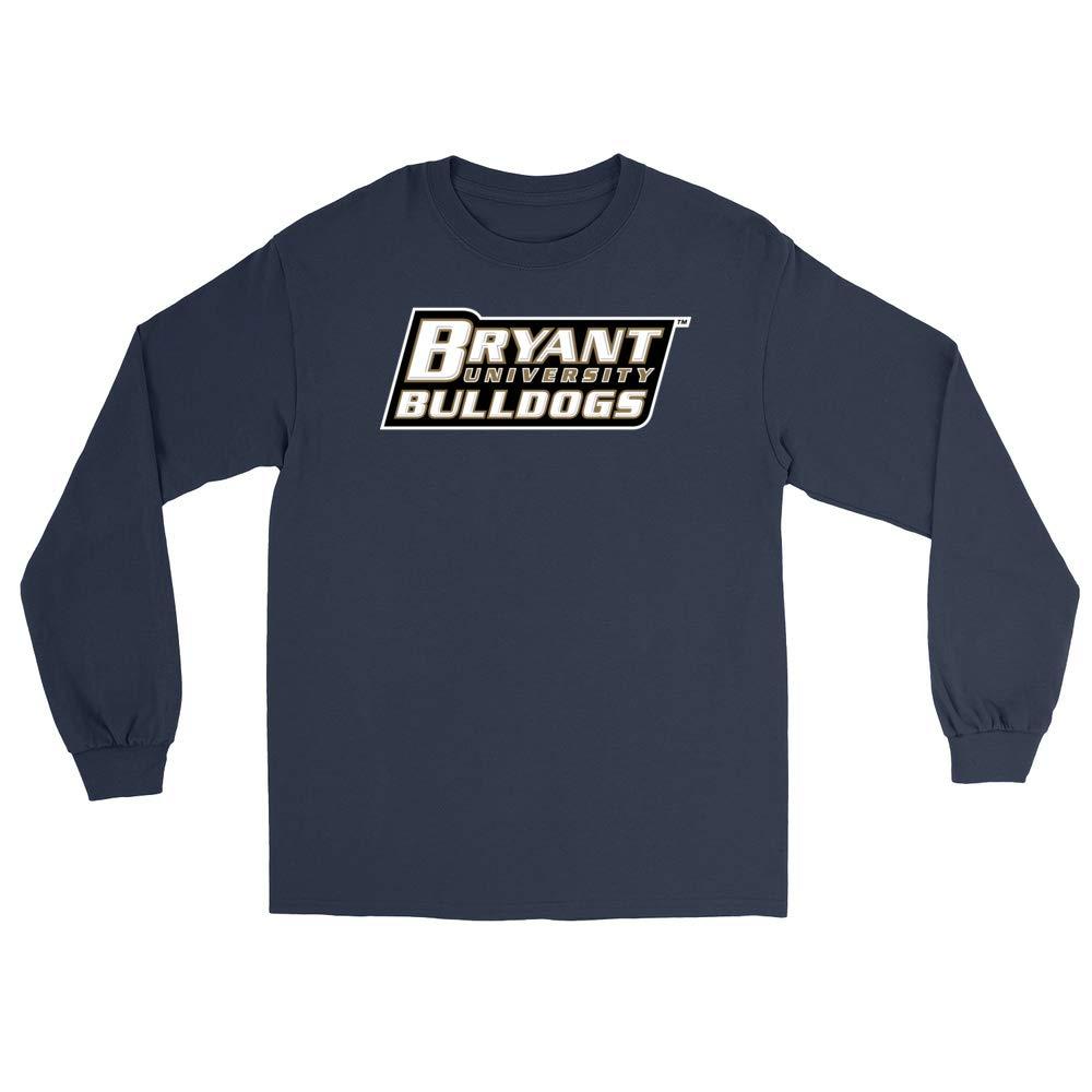 PPBRY05 Mens//Womens Boyfriend Long Sleeve Tee Official NCAA Bryant University Bulldogs