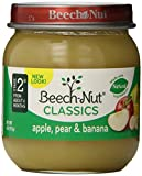 Beech-Nut Stage 2 Apple, Pear & Banana 4oz. (Pack of 10)