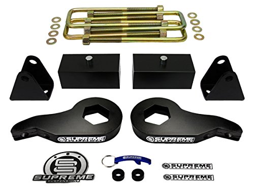 01 chevy 2500hd lift kit - 2
