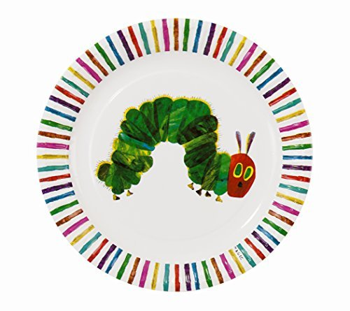 (Kids Birthday Party Supplies & Decorations Plates Paper Eric Carle Very Hungry Caterpillar Polka Dots Colorful 8)