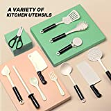 CUTE STONE 40PCS Kitchen Play Toy with Cookware