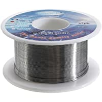 0.5mm 63/37 Tin lead Solder Wire Rosin Core Soldering 2% Flux Reel Tube by BINDER2012