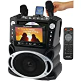KARAOKE USA GF829 DVD/CD+G/MP3+G Karaoke System with 7 TFT Color Screen