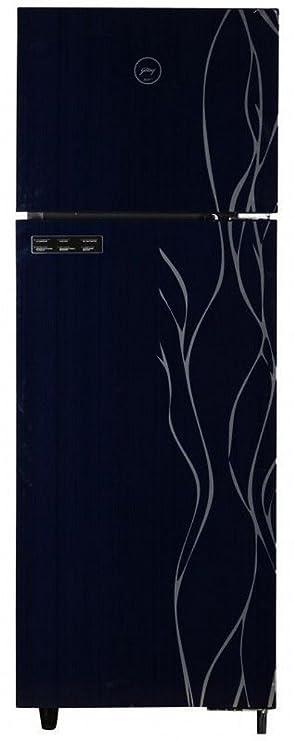 Godrej 343 L 2 Star Frost Free Double Door Refrigerator RTEON 343 SG 2.4, Ebony  Refrigerators