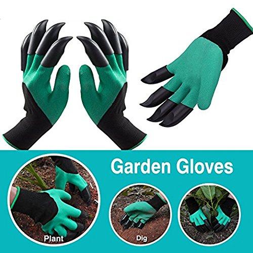 The ORIGINAL Eco-Friendly Garden Glove Claws - Right and Left Gloves Eco Friendly Garden