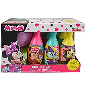 UPD Minnie Mouse Disney Bowling Set Toy, Multicolor