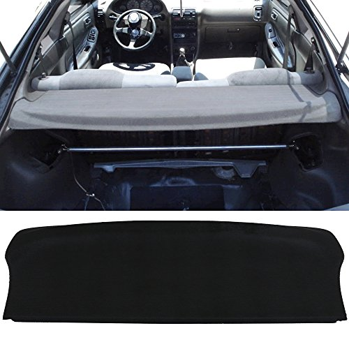 Trunk Cover Fits 1994-2001 Acura Integra | Hatchback Factory Style Trunk Cargo Security Cover by IKON MOTORSPORTS | 1995 1996 1997 1998 1999 2000 ()