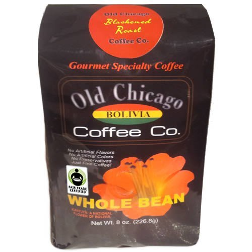 Old Chicago C00118 Fair Trade Certified Bolivian Dark Roast Beans44; Pack Of 2
