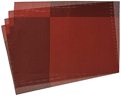 "Top Fine Eco-friendly Colorful Mats Place Mats Washable Heat-resistant for Dining Table 12"" By 18"""