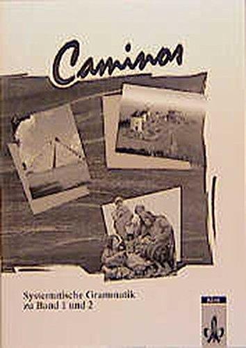 Caminos / Spanisch als 3. Fremdsprache: Caminos, Systematische Grammatik
