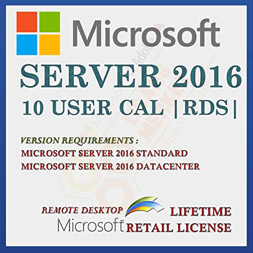 Server 2016 10 CAL Extern bureaublad-gebruikerslicentie | Licentie voor detailhandel | Met factuur | Licentiegegevens en…
