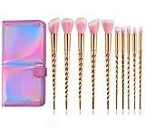 Best makeup brush set for beginner - Unicorn Makeup Brushes Set Make up Brushes Professional Review