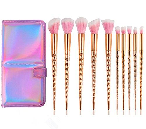 pink brush set - 6