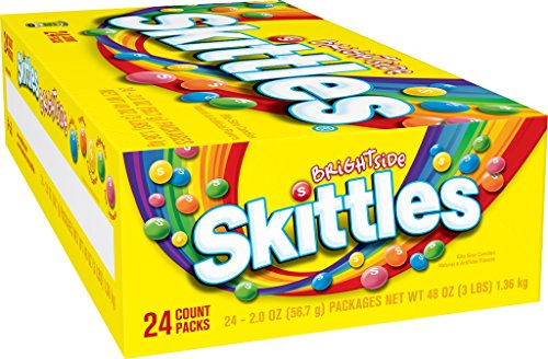 Skittles Brightside Candy, 2.0 Ounce, (Pack of 24) by Skittles