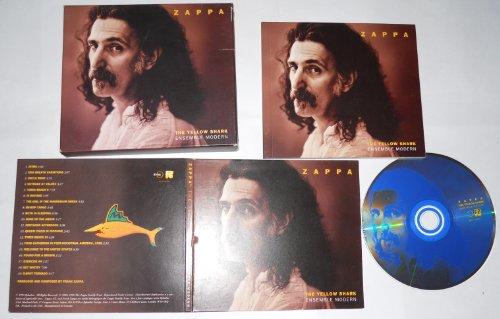 FRANK ZAPPA - THE YELLOW SHARK ENSEMBLE MODERN (1993 Rykodisc) - CD + Booklet.. (Yellow Shark)