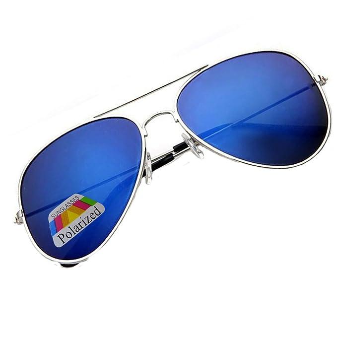 Polarisierten Pilotenbrille In Gold & Blau MlSlLZnY