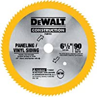 DEWALT DW9153 6-1/2-Inch 90 Tooth Paneling and Vinyl