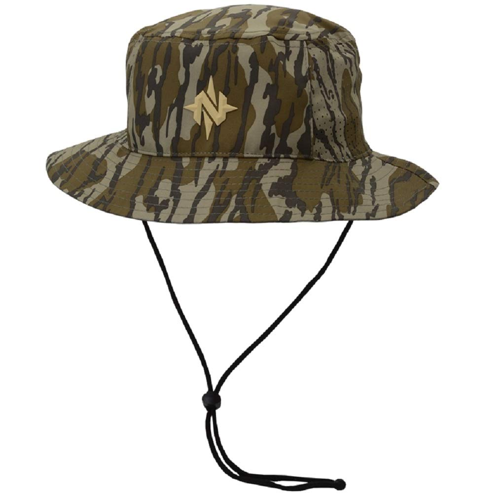Nomad Outdoor Bucket Hat, Mossy Oak Bottomland, One Size by Nomad