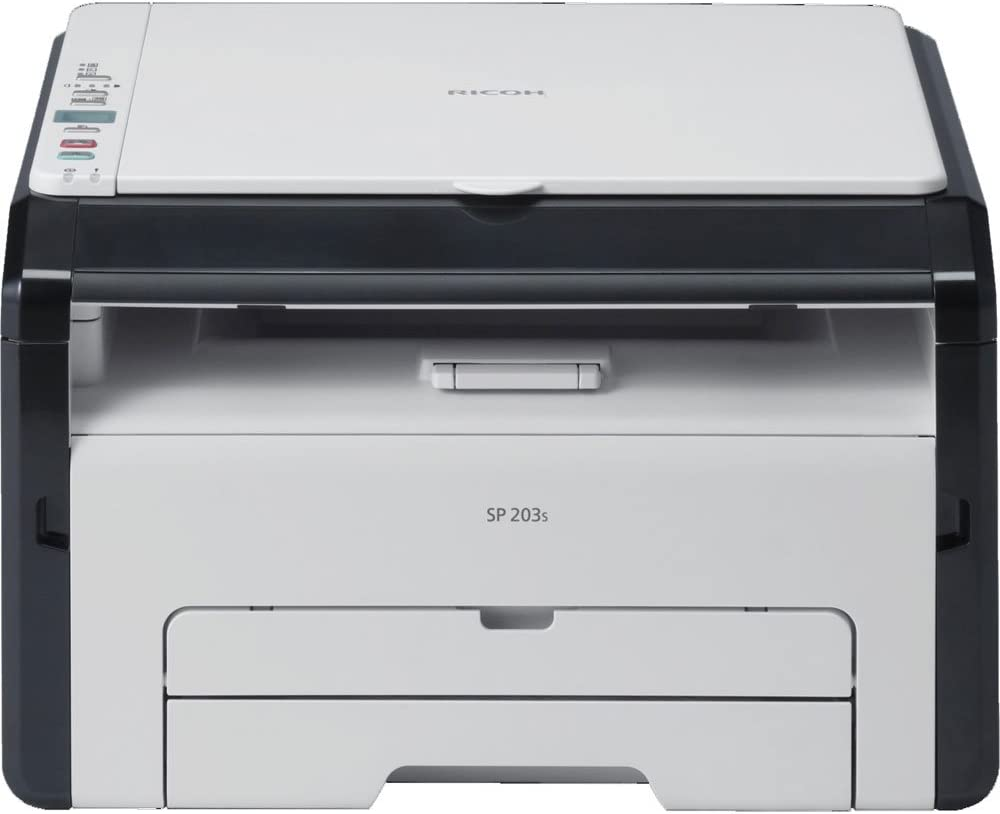Ricoh SP 203 S - Impresora multifunción láser (b/n 22 ppm): Amazon ...