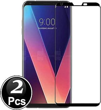 LG V30 - V30S Protector de Pantalla, Scott-ES [Curvado 3D] Vidrio ...