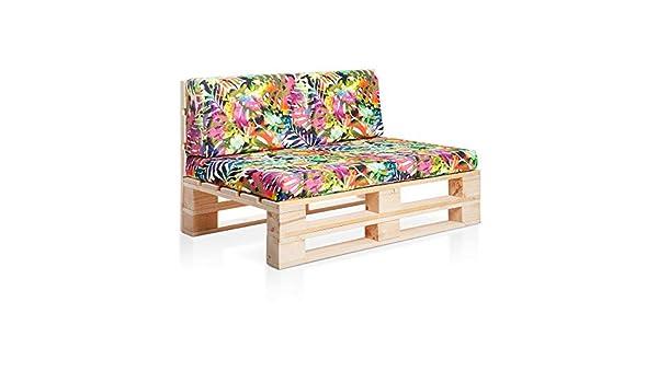 SUENOSZZZ - Sofa PALETS Madera para Jardin sin Barniz ...