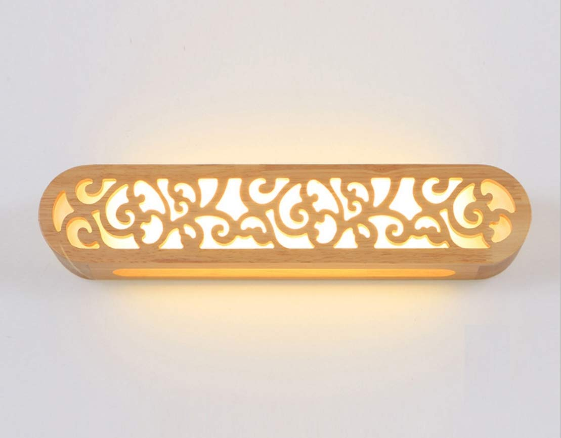 YIZHANGJapanische kreative Massivholz Massivholz Massivholz Kunst LED Wand Lampe einfache moderne Wohnzimmer Gang Treppenhaus Wand Lampe Schlafzimmer Nachttischlampen B07JC6469C | Spielen Sie Leidenschaft, spielen Sie die Ernte, spielen Sie die Welt  35a55f